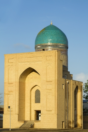 samarkand: Mausoleum Bibi Khanum in Samarkand, Uzbekistan Stock Photo