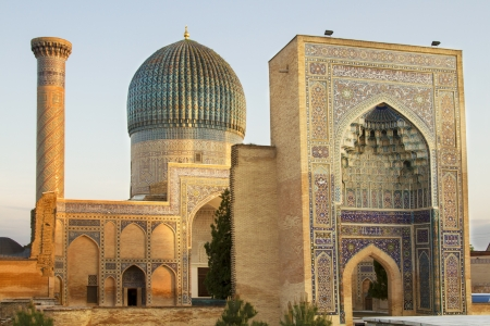 mausoleum: Mausoleum of Emir Timur in Samarkand Stock Photo