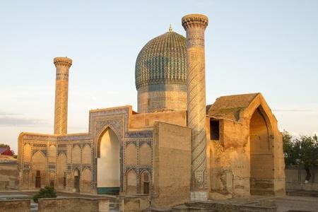 Mausoleum of Emir Timur in Samarkand Stock Photo