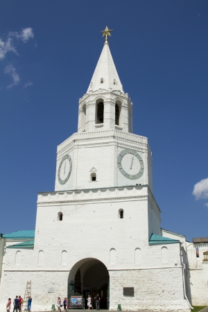 Spasskaya Tower of the Kazan Kremlin photo