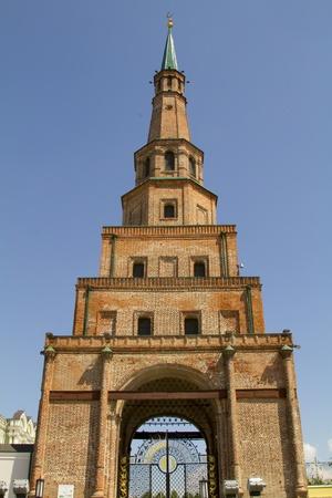 Leaning Tower in the Kazan Kremlin photo