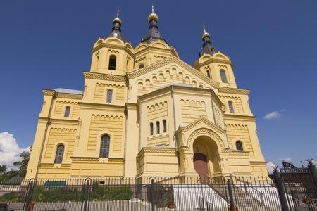 nizhny novgorod: Alexander Nevsky Cathedral in Nizhny Novgorod