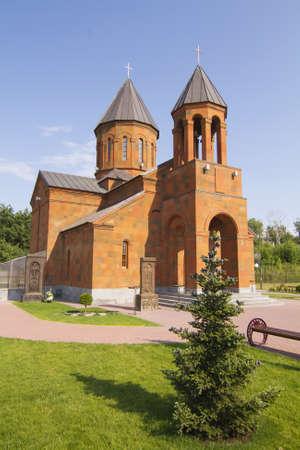 nizhny novgorod: Armenian church in the city of Nizhny Novgorod