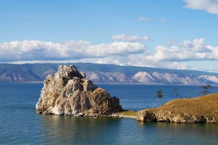 Cape Burhan on Olkhon, Lake Baikal photo