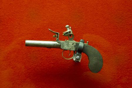 18th century style: Old handgun