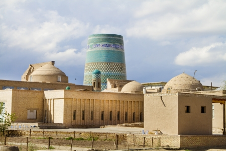 educational institution: The view from the fortress walls of the old city of Khiva Editorial