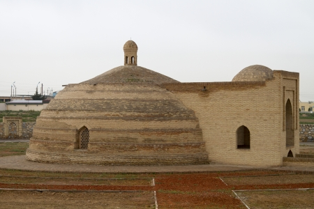 Ancient well water in Uzbekistan - Sardoba photo
