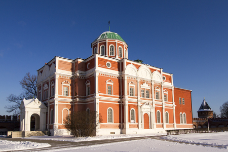 The building of the former Cathedral of the Epiphany in the Tula Kremlin - Museum of Arms