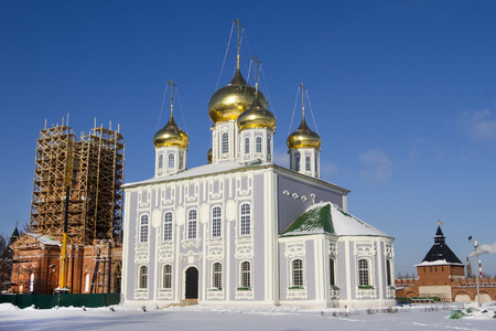 Uspensky Cathedral in the territory of the Tula Kremlin photo