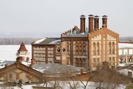 Zhiguli Brewery in Samara  Stock Photo