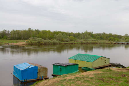 klyazma: Kliazma River near the town of Gorohovets