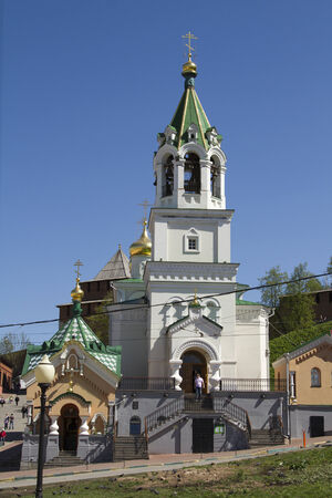 forerunner: The Nativity of St  John the Forerunner in Nizhny Novgorod