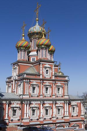 nizhny novgorod: Christmas Stroganov Church in Nizhny Novgorod Editorial