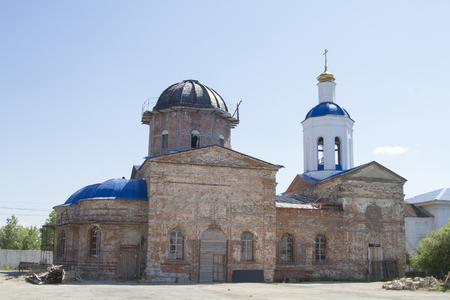 Syzransky Holy Ascension friary Stock Photo