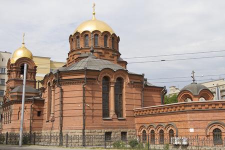 novosibirsk: Alexander Nevsky Cathedral in Novosibirsk