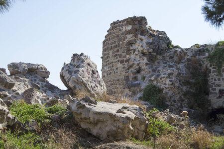 Fortress Kadifekale Izmir Stock Photo