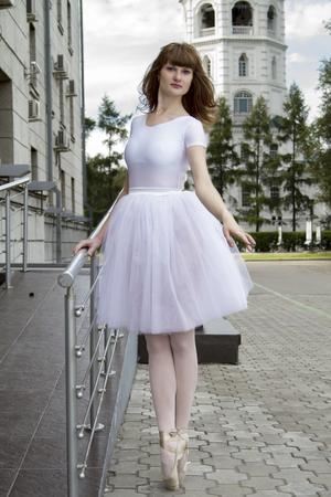 luxuriant: Ballerina on the streets of Irkutsk