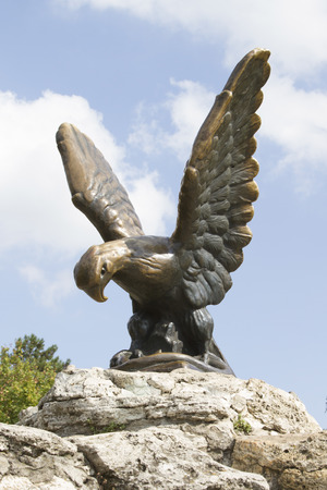 pyatigorsk: Symbol of the city of Pyatigorsk - eagle holding a snake