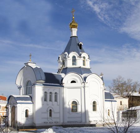 ulan ude: Orthodox Church in the capital of the Republic of Buryatia