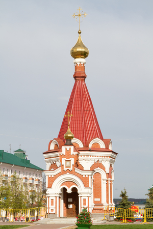alexander nevsky: Chapel of the Holy Prince Alexander Nevsky in Saransk