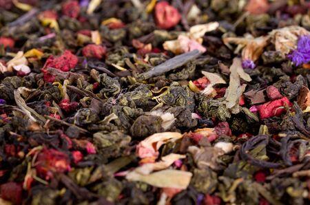 flower leaf: Background of flower tea