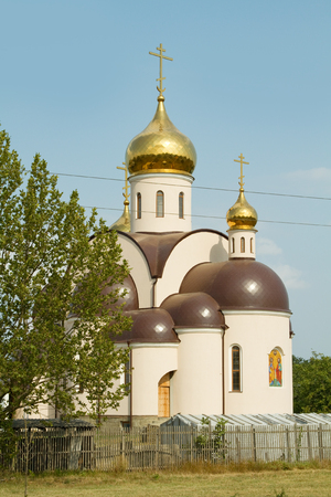 cossacks: Orthodox church in the village of Sennoy on the Taman Peninsula