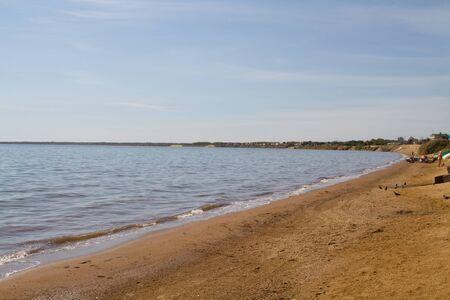 therapeutic: Sandy Beach therapeutic salty lakes Big Yarovoye