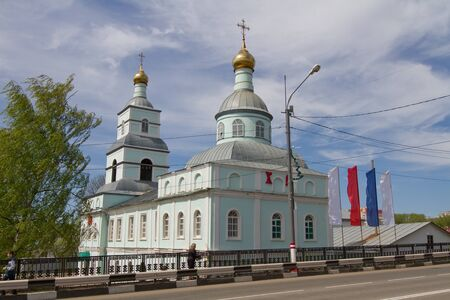 SARANSK, RUSSIA - MAY 9: Saransk church at a religious school on May 9, 2015 in Saransk. Editorial