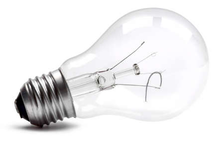 gamme de produit: A blown electric incandescent lamp Banque d'images