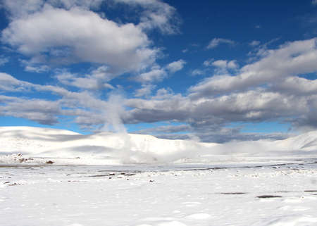 El Tatio geothermal field Reklamní fotografie