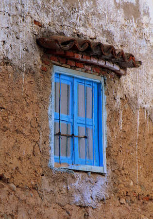 A lonely window in Chefchaouen, Morocco