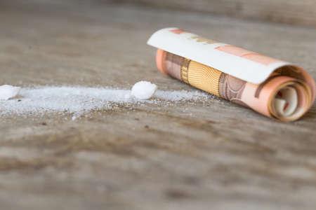 cocaine, drug concept