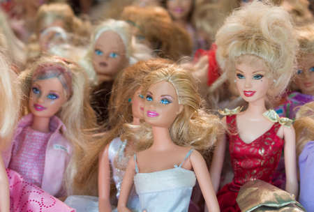 barbies poppen Stockfoto