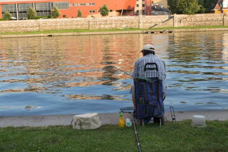 fisher man in cracow