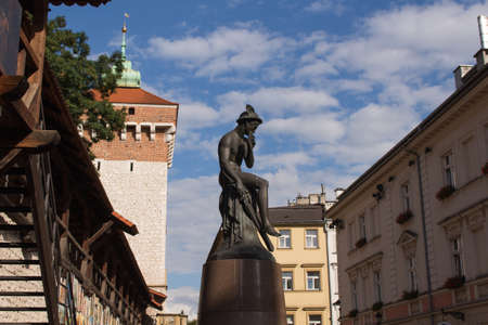 Statues in cracow
