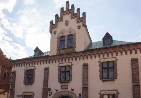 buildings in cracow