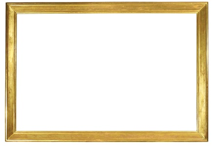 Gold frame Stock Photo - 10129983