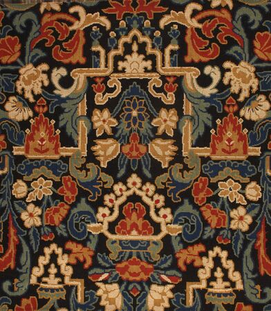 tapestry: ancient fabric Stock Photo