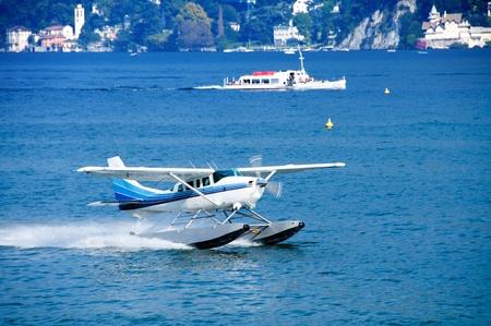 sea otter: seaplane