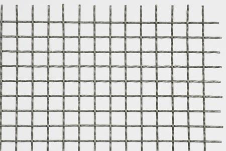 grid: rete metallica Archivio Fotografico