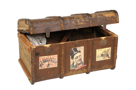 old trunk Stock Photo - 11663421