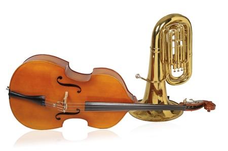 tuba: tuba Stock Photo