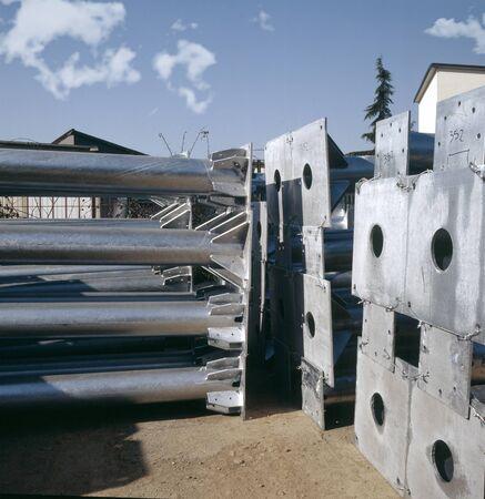 electroplating: metal Stock Photo