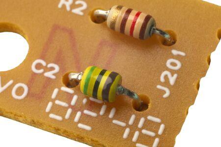 elettronics components photo