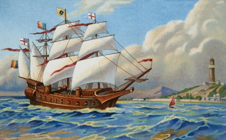 galleon: ancient boat