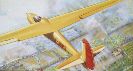 glider: glider old illustration