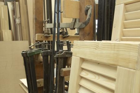 hobbyist: carpenter  at work