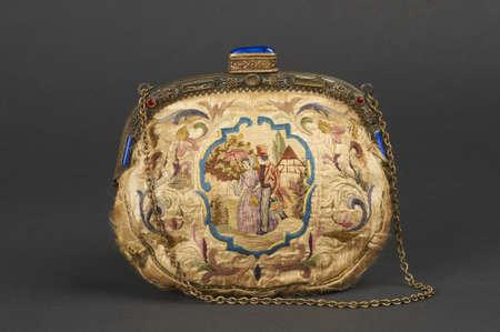 Ancient textil handbags  photo