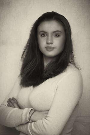 teener: teen ager portrait