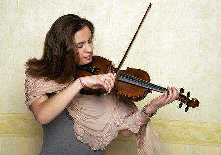 young violinist photo